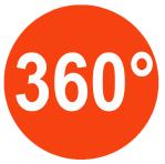 360 degree orange