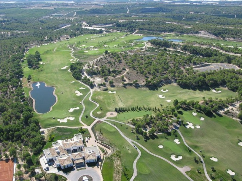 Las Colinas Property - Las Colinas Golf and Country Club Aerial