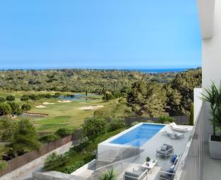 View from Buho villa Madrono