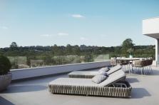 Huge solarium Lavanda villa