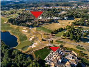 Mimosa Community aerial view