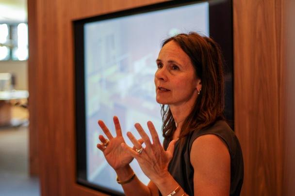 Monica Armani passionate about modern design