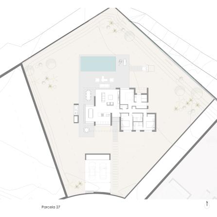 Ciruelo Villa 27 Site Plan