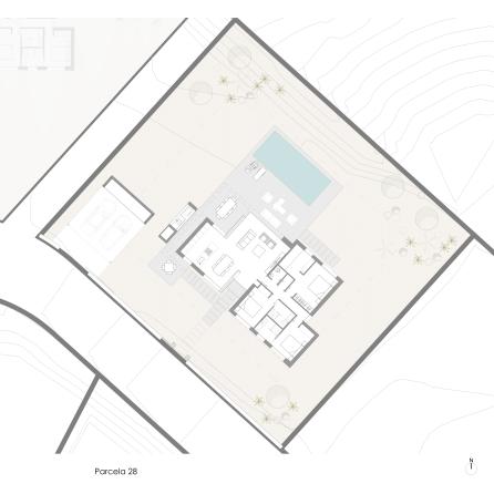 Ciruelo Villa 28 Plot Plan