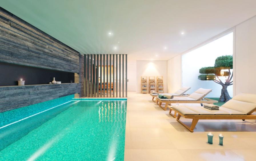 Mimosa Villa 16-17 Indoor Pool