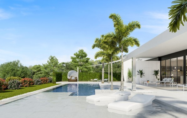 Mimosa Villa 16-17 Terrace & Pool